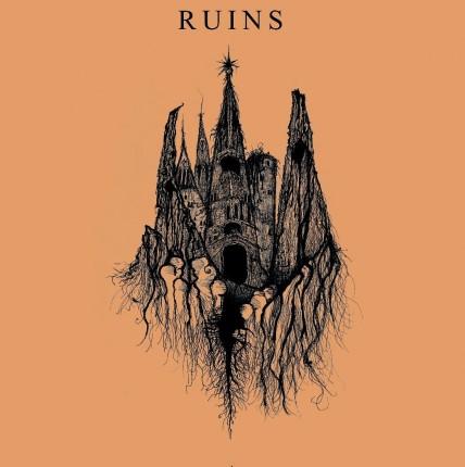 "Ruins / Usnea - Split 7"""