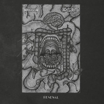 Moribund Scum / Exilent - Reneval Split LP