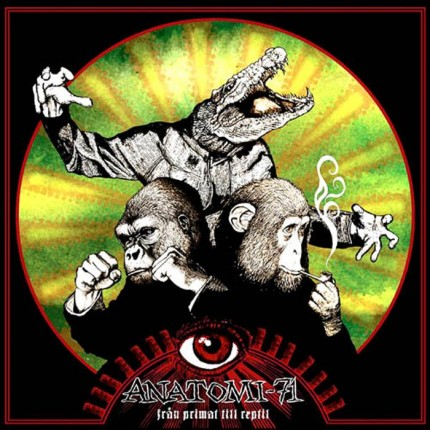 Anatomi 71 - Fraan Primat Till Reptil LP