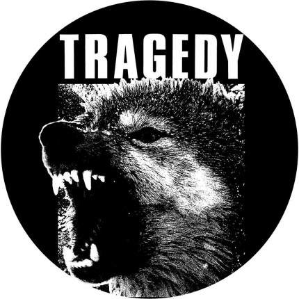 Tragedy - Wolf Button