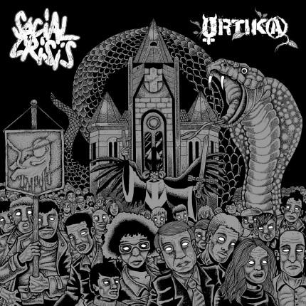 Social Crisis / Ortika - Split LP