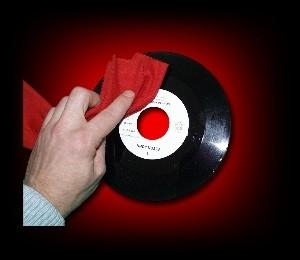 Schallplatten Reinigungstuch