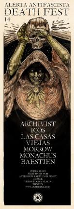 Alerta Antifascista Deathfest#14 1-Day Festival Poster