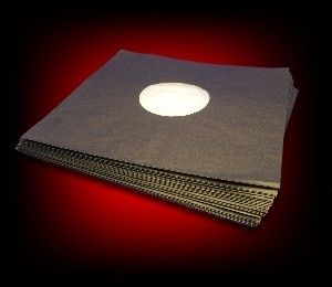 LP - Inner Sleeves Black (10 pieces)