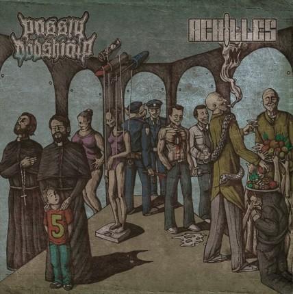 Passiv Dödshjälp / Achilles - Split LP