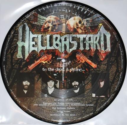 Hellbastard / Herida Profunda - Split Pic-LP