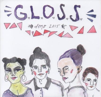 "G.L.O.S.S. – Demo 2015 7"""