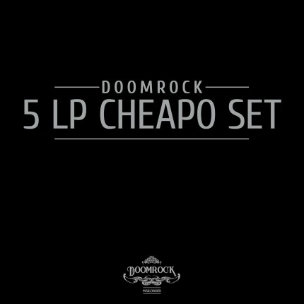 Doomrock Mailorder - 5x LP Cheapo Set