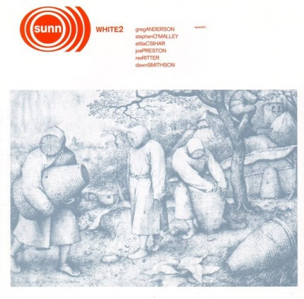 Sunn O))) - White 2 (2018 remastered edition) 2xLP