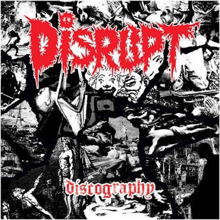 Disrupt - Discography 4xLP