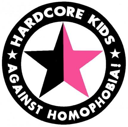 Hardcore Kids Against Homophobia - Button