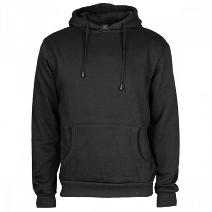 5x Fruit Of The Loom Hoody (black)