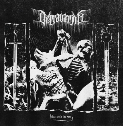 Depravation - Feast With The Rats LP