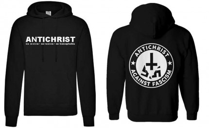 Antichrist - Hoodie (S-3XL, front and back print)