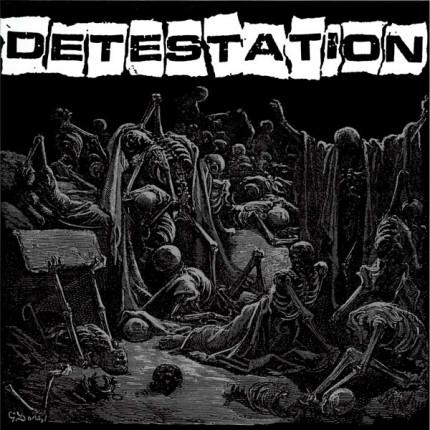 Detestation - s/t LP