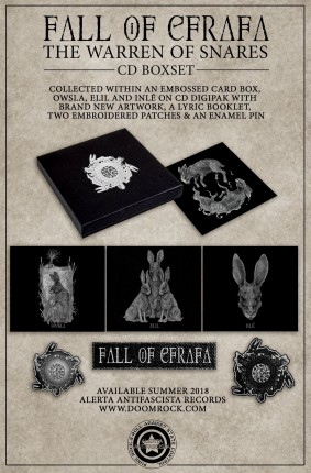 Fall Of Efrafa - The Warren Of Snares CD-Boxset (Owsla, Elil, Inle)