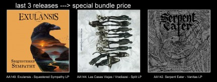 AA149 / AA144 / AA142 - Special Offer 3xLP