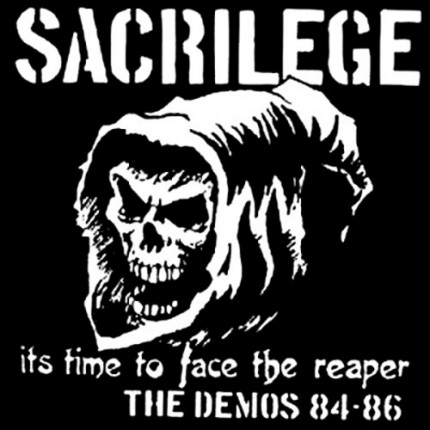 Sacrilege - Time To Face The Reaper (demos 84-86) 2xLP